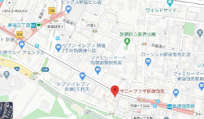 サニープラザ新宿御苑「物件編號:106948」