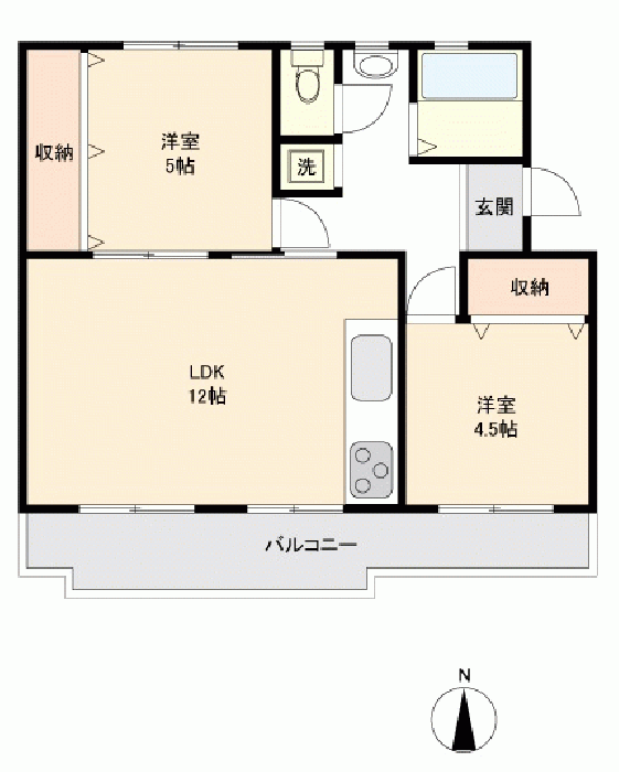 西三田団地4-5号棟_6