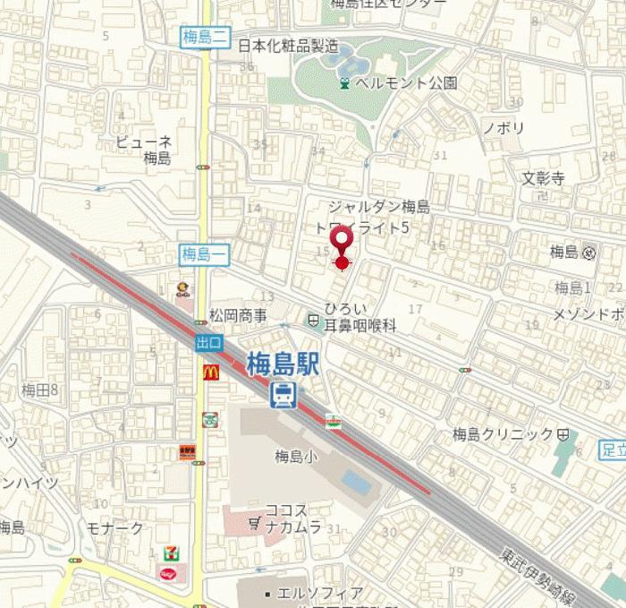 メインステージ梅島駅前_2