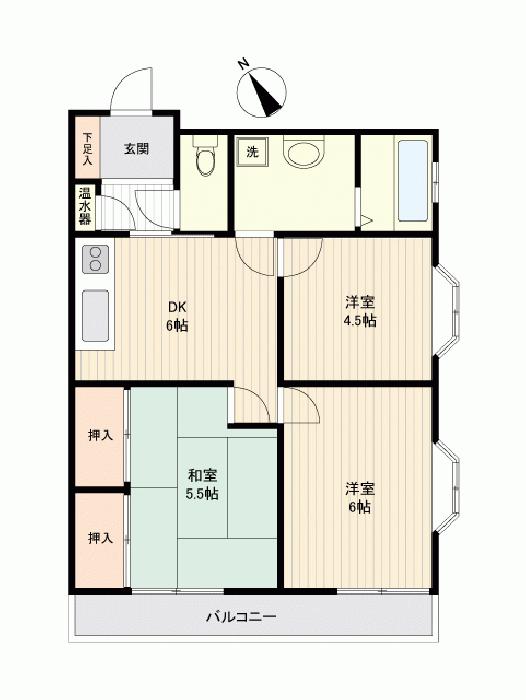 リヴェールマンション熊谷_6