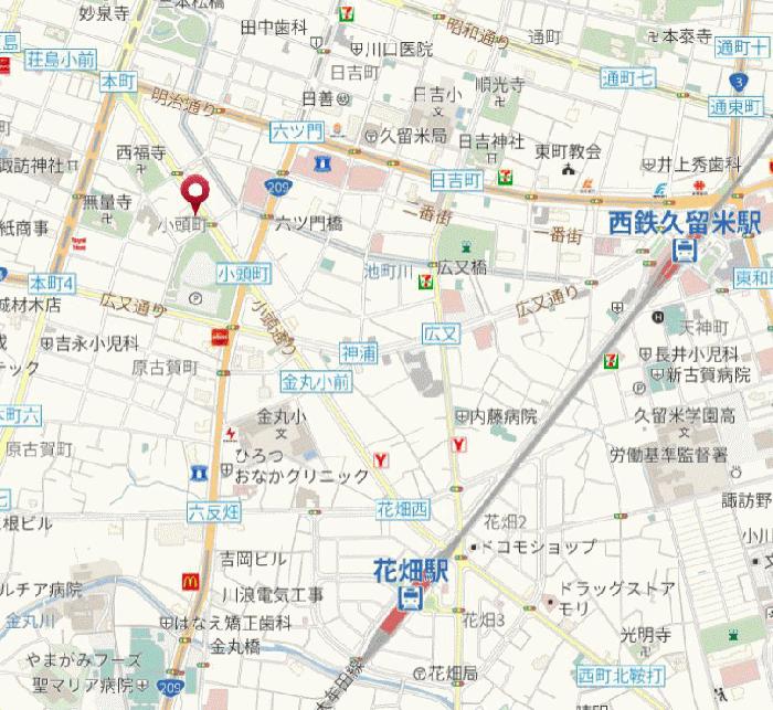 朝日プラザ久留米Ⅱ_2