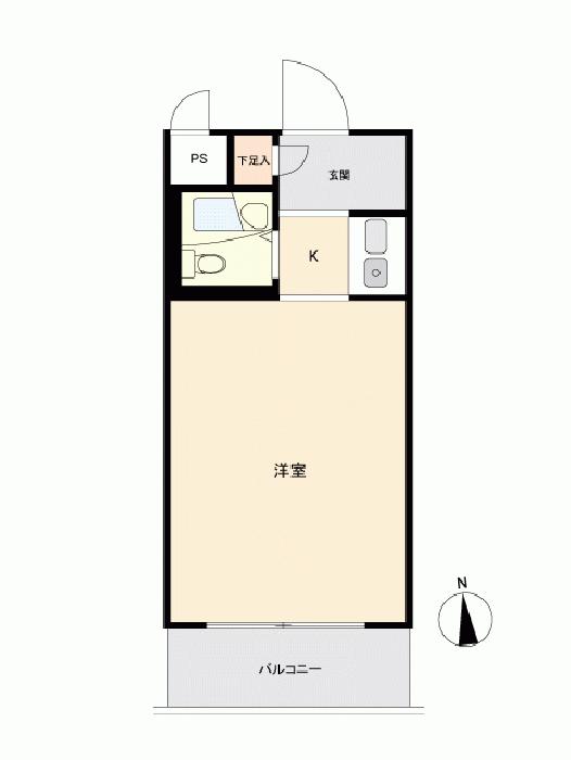 日興パレセゾン経堂_6