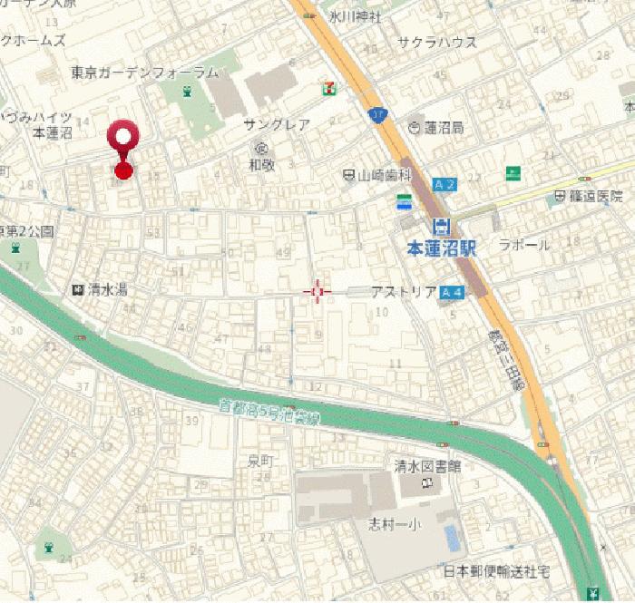 クレッセント本蓮沼_2
