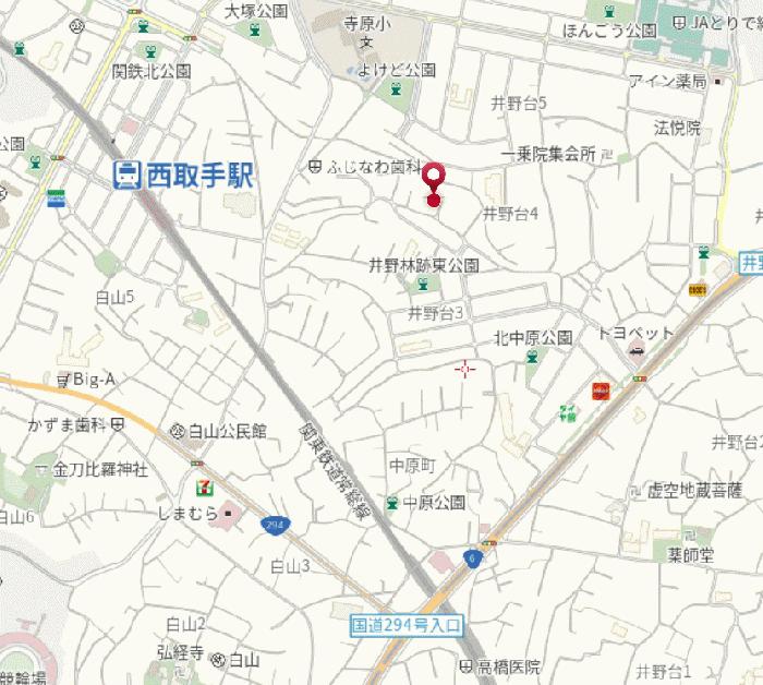 取手市井野台4丁目アパート_2