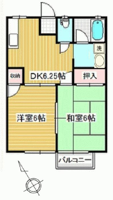 取手市井野台4丁目アパート_6