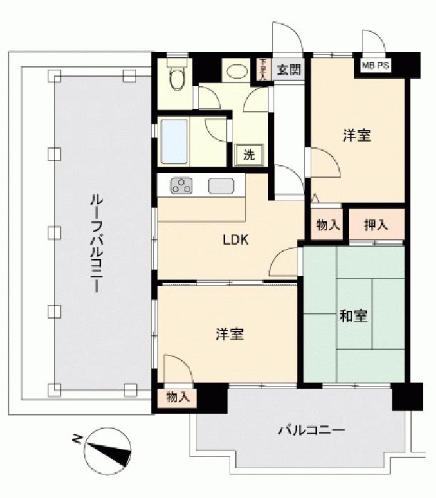 ライオンズマンション南太田第二_6