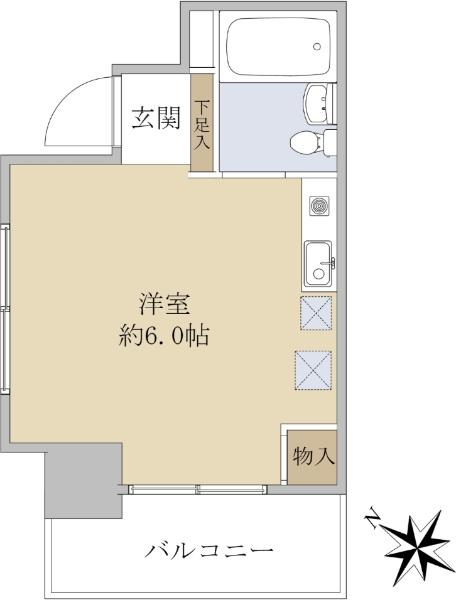 スカイコート西川口第5_6