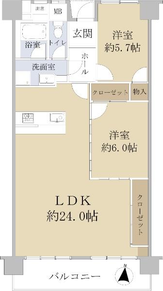 大阪マリンハイツ 弐号館_6