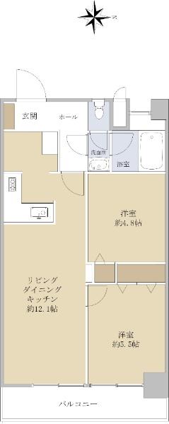 カーサ武蔵関_6