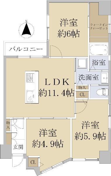 マンション北堀江_6