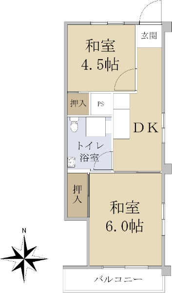 三田向原コーポ_6