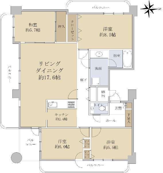 ライオンズマンション旭ヶ丘中央_6