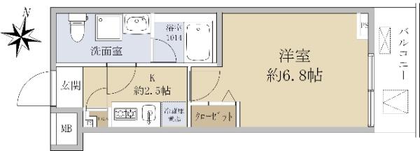 スクエアシティ鶴見フェルクルール_6