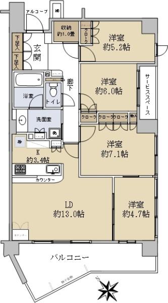 パークホームズ新検見川テラス_6