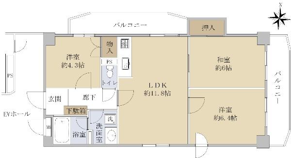 イトーピア新栄マンション_6