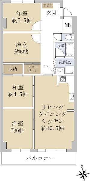 丸美タウンマンション松原_6