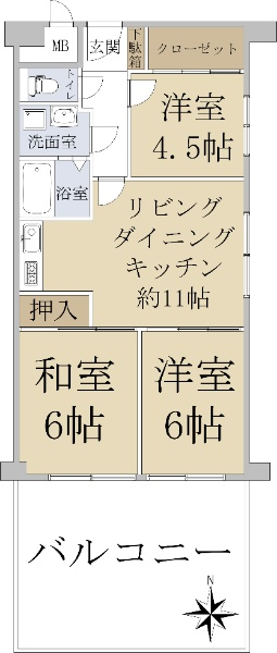 藤和シティコープ船場_6
