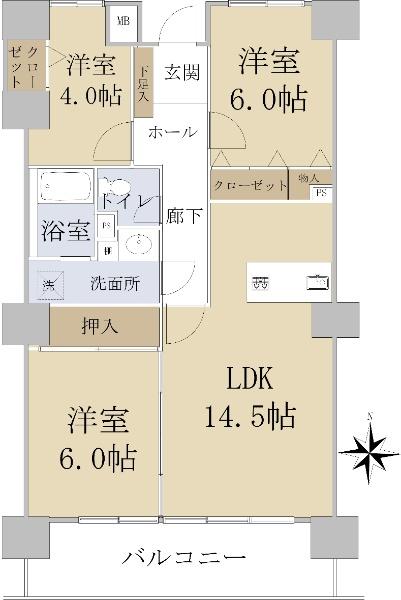 シティコーポ岩井通_6