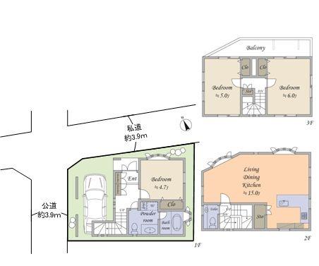 渋谷区神宮前3丁目戸建_6
