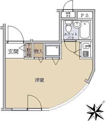 ラブリハイツ北新宿Ⅱ_6