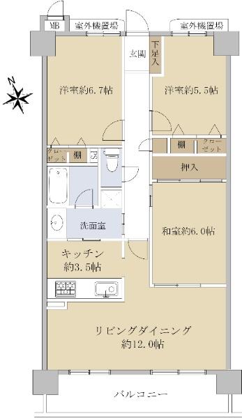 サンマンションアトレ春岡通_6