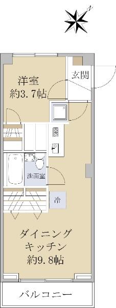 三田高島平第二コーポ_6
