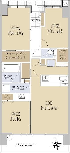 シティテラス神崎川駅前シーズンズテラス_6