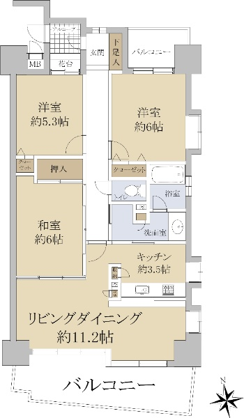 名駅アイリス弐番館_6