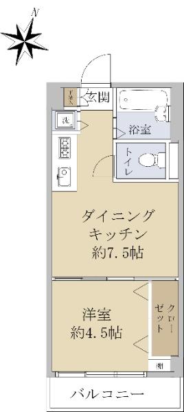 月島福寿マンション_6