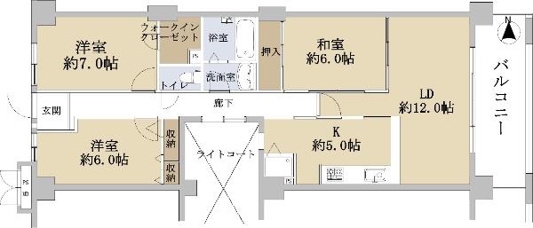 サンシティ桂坂 参番館_6