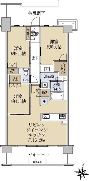 レーベン横浜阪東橋ベイル_6
