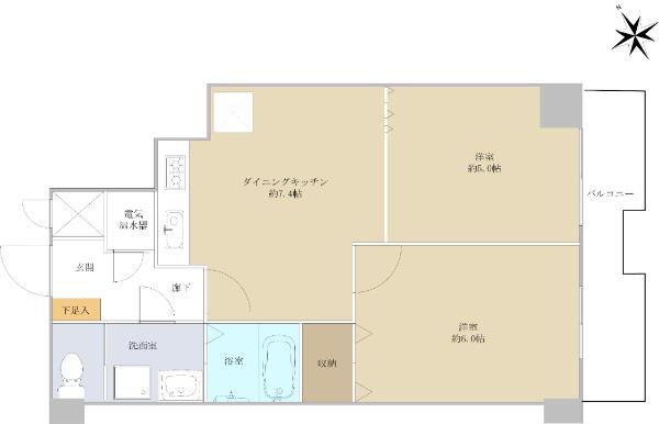 自由ヶ丘第5マンション_6