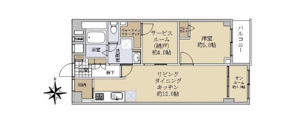 武蔵野エイトマンション_6