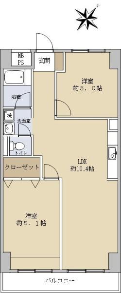 鶴見リバーマンション_6