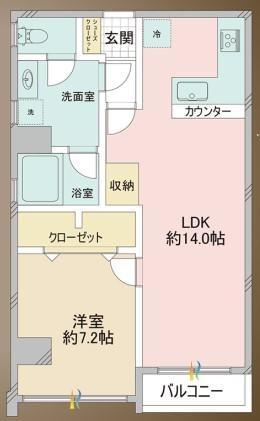 メゾンドール高田馬場_6