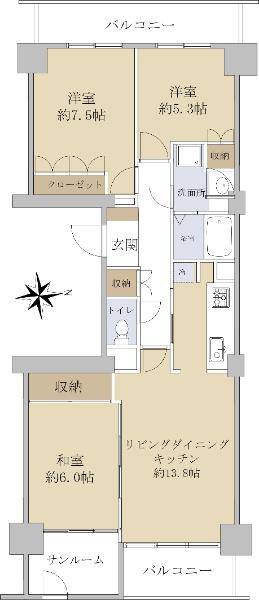 ニューシティ東戸塚東の街4号棟_6