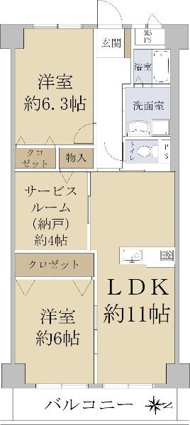 関目グリーンハイツ A棟_6