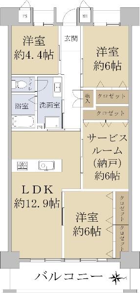 関目北すみれハイツ 2号棟_6