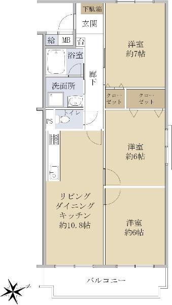 鳴海砦公園パーク・マンション_6