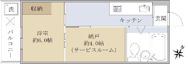 シャンブル幡ケ谷_6