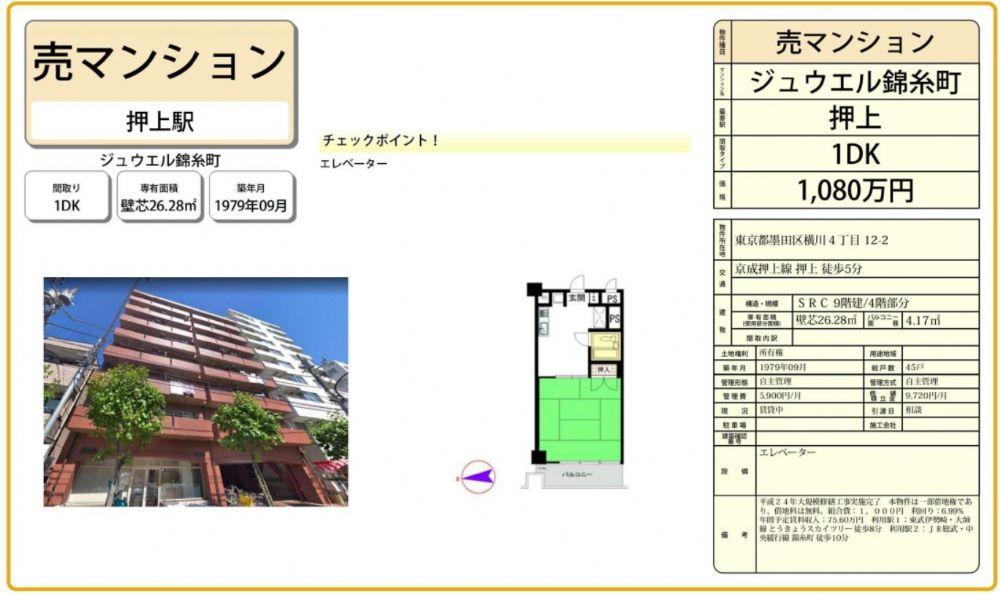 販賣圖:ジュウエル錦糸町