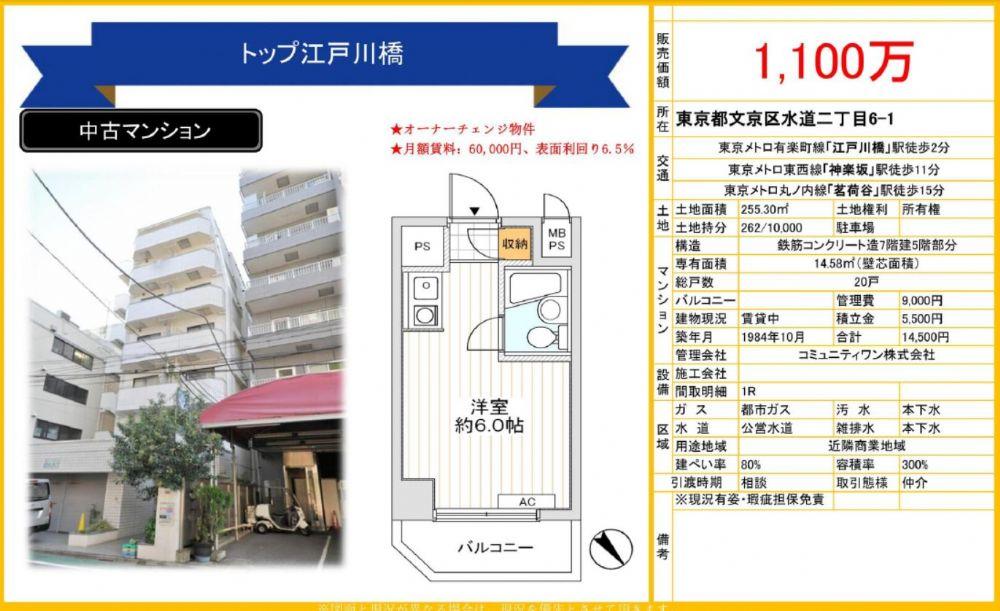 販賣圖:トップ江戸川橋